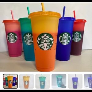 Starbucks Colour Changing Cups!
